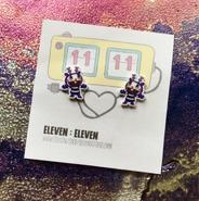 Mime Earrings
