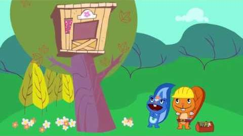 "Petunia's voice from ""House Warming"" is reused in many Happy Tree Friends episodes"