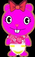 Gia Peed Her Nighttime Diaper