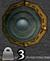 Black metal shield