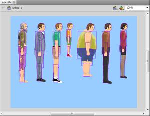 Editing NPCS in Flash CS5 5