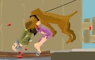Bit by dog