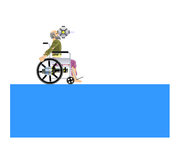 Happy Wheels homing mine time delay