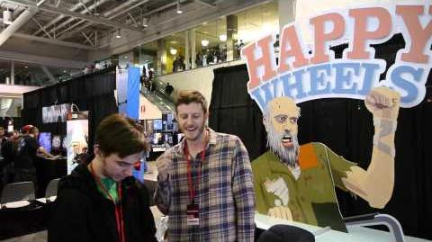 Happy Wheels Gameplay iOS & Android Pax East 2013-0