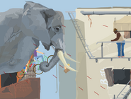 An elephant indeed