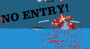 NOT ENTRY