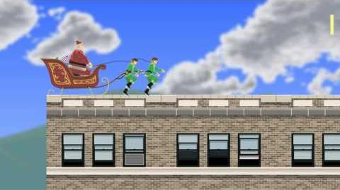 Happy Wheels - Santa Claus