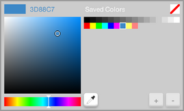 Current Color Selector