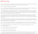 Release Log (Browser)