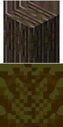 Spooky Log and Leaves big