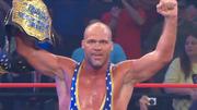 Kurt Angle wins TNA World Title over Sting