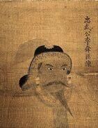Portrait of Yi Sun-Sin, Busan Cultural Heritage Material No. 56