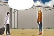 Carter Han meeting Helena in Giga Group Mansion compound (Season 2 Episode 17)