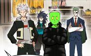 Dark, Sora, Long Padding Man and Heart Heater (Season 2 Episode 31)