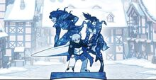 Team Dark Statue in Dark Land (Season 2 Episode 20)