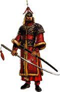 Yi Sun-Shin in the 'Yi Soon-Shin Warrior and Defender' series