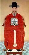 Admiral Yi Sun-sin (Portrait) Chesungdang (Victory Hall)