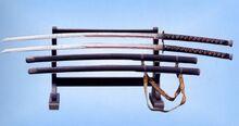 National Treasure 326 (Yi Sun-Shin's Sword) in the Hyeonchungsa Temple