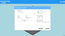 CPU Develop