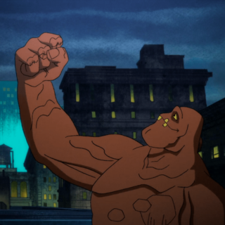 Clayface gets his arm back