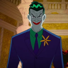 Joker as he is going to kill Scarecrow
