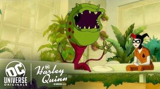 Get to Know Frank the Plant Harley Quinn DC Universe