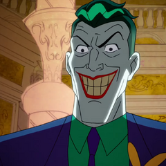 Joker grins before killing Scarecrow with acid