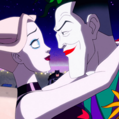 The Joker escapes with Harley