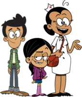 The Loud House The Santiago Family