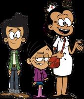 The Loud House The Santiago Family