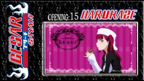 Bleach Opening 15 FULL - SCANDAL - HARUKAZE