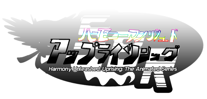 Harmony unleashed uprising logo japanese ver by aaronmon97-d5mtgsy