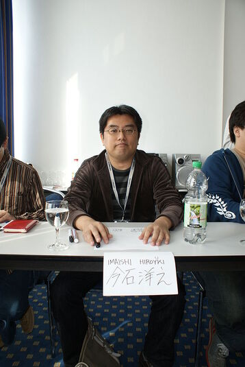 685px-Connichi2008 GAINAX Imaishi Hiroyki