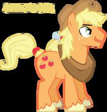 Profile Applejack 1 by Trotsworth