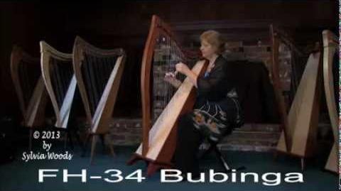 Dusty Strings Harp Comparison by Sylvia Woods