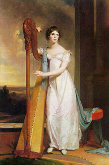 1818-Lady-with-Harp-Eliza-Ridgely-Sully