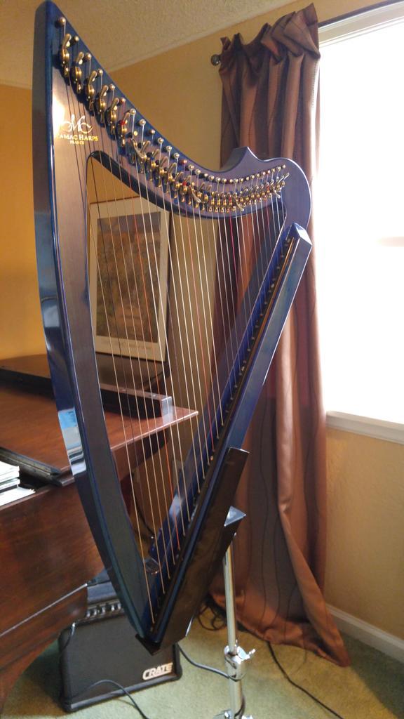 The Baby Blue 30 by Camac Harps | Harp Wiki | FANDOM powered by Wikia