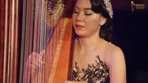 """Loving You -Harp Cover- by Maria Pratiwi """"The Harpist"""""""
