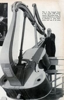 Two-story-harp