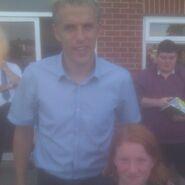 Me meeting Phil Nevile