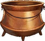 Copper-cauldron