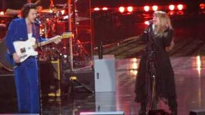 2019 Rock & Roll Hall of Fame STEVIE NICKS HARRY STYLES Complete Duet STOP DRAGGIN' MY HEART AROUND