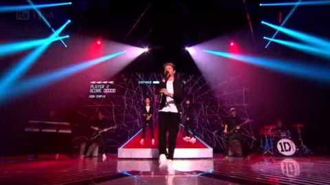 """One Direction - """"Kiss You"""" Live The X Factor Uk 2012 Final HD"""