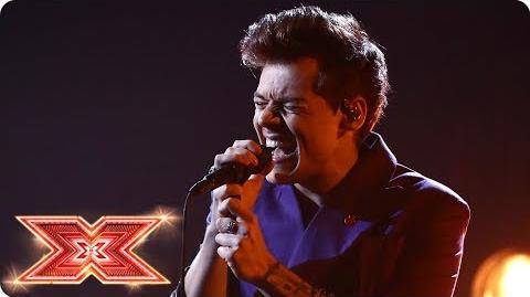 Harry Styles returns to The X Factor stage! Live Shows The X Factor 2017