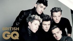 One Direction For British GQ Behind The Scenes British GQ