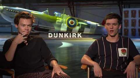 Dunkirk Harry Styles & Fionn Whitehead Interview