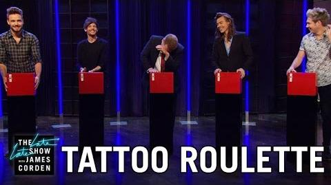 Tattoo Roulette w One Direction