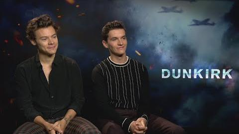 DUNKIRK Harry Styles & Fionn Whitehead tried method acting with corned beef