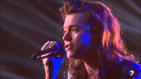 One Direction perform Perfect for X Factor Australia 16 NOV 2015