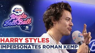 Harry Styles Impersonates Roman Kemp Capital